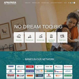 Apnapaisa.com - Apply for Home Loans and Personal Loans Online