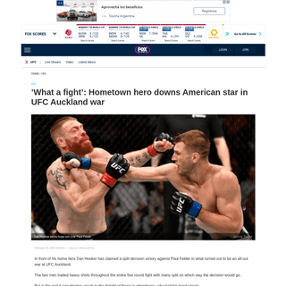 ArchiveBay.com - www.foxsports.com.au/ufc/what-a-fight-hometown-hero-downs-american-star-in-ufc-auckland-war/news-story/8fb1a9bcce856e130f2b45232404f2e5 - UFC Auckland- Results, knockout video, Song Kenan defeats Callan Potter - Fox Sports