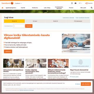 Avaleht - Swedbank