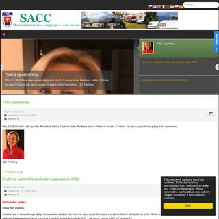 SACC - Slovenská asociácia campingu a caravaningu