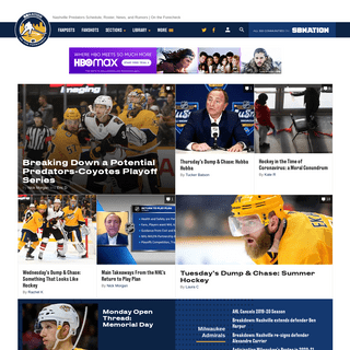 Nashville Predators Schedule, Roster, News, and Rumors - On the Forecheck