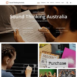 Home - Sound Thinking Australia
