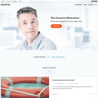 NOOP.NL - The Creative Networker