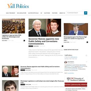 Mississippi Politics and News - Y'all Politics