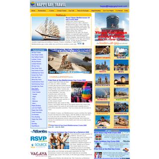 Happy Gay Travel - All Gay & Lesbian Cruises, Resorts & Tours. Gay & gay friendly hotels, apartments & holidays to Gran Canaria,