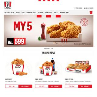 KFC Pakistan - Order KFC Online for Delivery