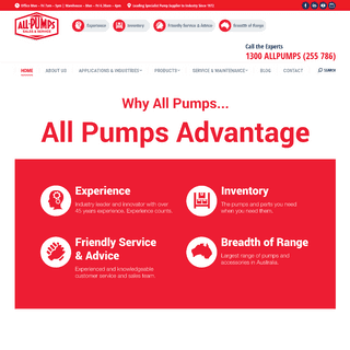 All Pumps Sales & Service - Leading Supplier of Industrial Pumps