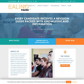 Home - Ealing Paces