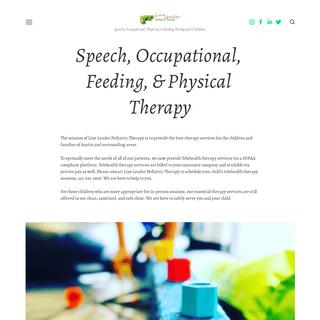 Line Leader Pediatric Therapy