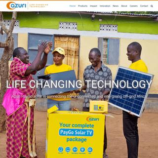Azuri - Life Changing Technology