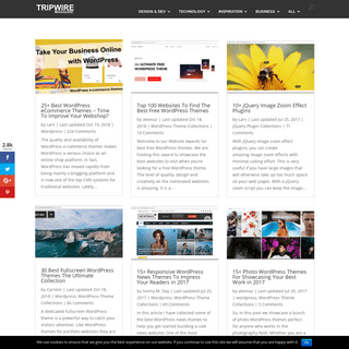 Tripwire Magazine - Handpicked goodies for entrepreneurs, developers and web designers