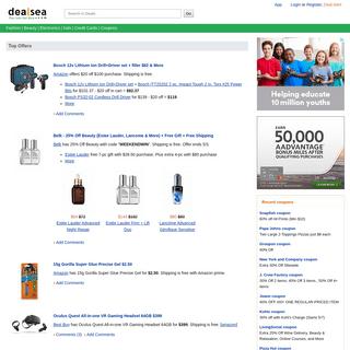 ArchiveBay.com - dealsea.com - Dealsea.com- Coupons - Deals