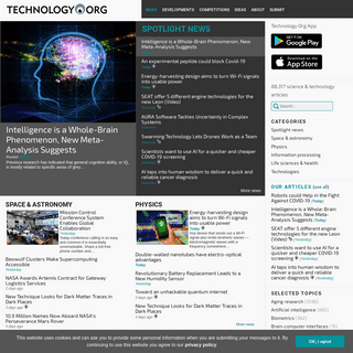 Technology Org - Science and technology news