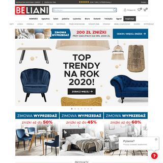 ArchiveBay.com - beliani.pl - Meble, lampy i akcesoria do 70- taniej - Beliani sklep internetowy