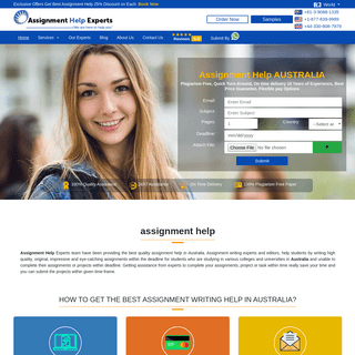 Assignment Help - #1 Australia Assignment Help Company Since 2005