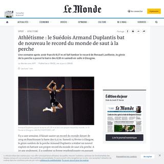 ArchiveBay.com - www.lemonde.fr/sport/article/2020/02/15/athletisme-le-suedois-armand-duplantis-bat-de-nouveau-le-record-du-monde-de-saut-a-la-perche_6029709_3242.html - Athlétisme- le Suédois Armand Duplantis bat de nouveau le record du monde de saut à la perche
