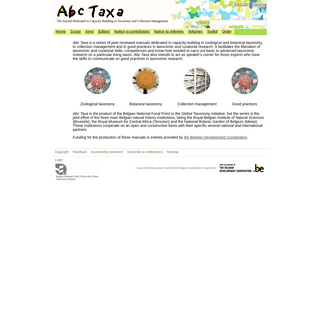 - The Journal Dedicated to Capacity Building in Taxonomy and Collection Management