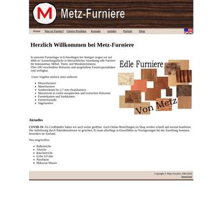 Metz Furniere