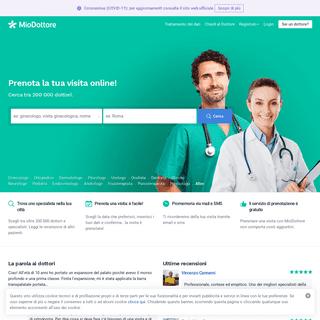 MioDottore.it - Trova un dottore e prenota la tua visita online