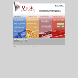 Music For Ear Training - home