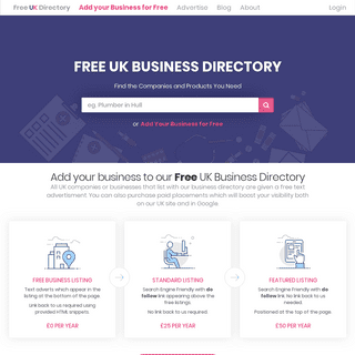 Free UK Business Directory