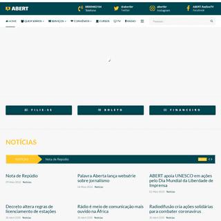 ABERT - Associação Brasileira de Emissoras de Rádio e Televisão