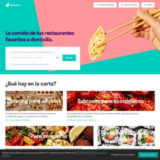 Tu comida favorita de los restaurantes de tu zona, a domicilio - Deliveroo