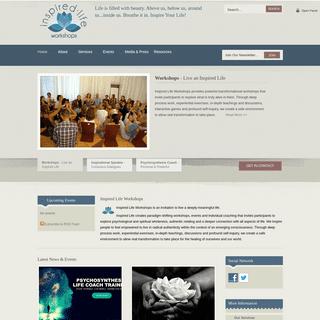Workshops, Public Speaking & Life Coaching - Inspired Life Workshops