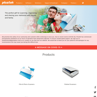 Plustek USA- A world-class solution provider. Best film scanner, mobile scanner, Document Scanners for Medical, Law and Accounti