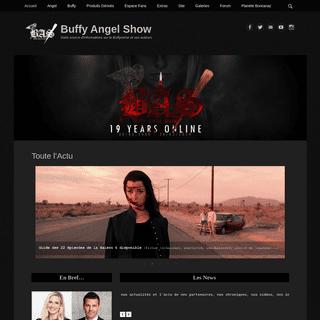 Toute l'Actu - Buffy Angel Show