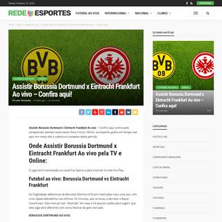 ArchiveBay.com - redeesportes.com.br/2020/02/14/assistir-borussia-dortmund-x-eintracht-frankfurt-ao-vivo-confira-aqui/ - Assistir Borussia Dortmund x Eintracht Frankfurt Ao vivo - Confira aqui! - Rede Esportes