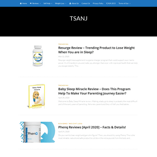 TSANJ News & Reviews