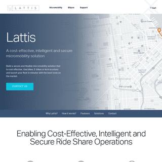 Ellipse Smart Bike Lock, Keyless, Theft Alert, Solar-Powered – Lattis