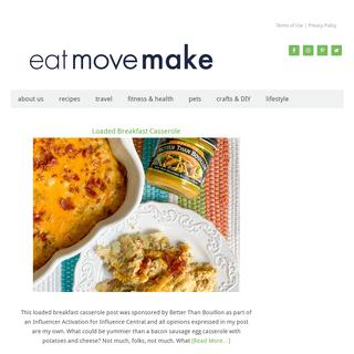 Eat Move Make - food - travel - lifestyle
