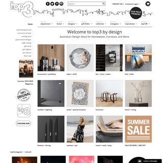 Premium Designer Homewares in Australia - top3 by Design