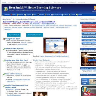 BeerSmith™ Home Brewing Software, Recipes, Podcast and Blog