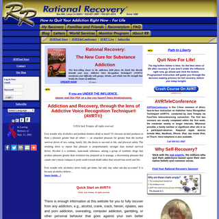 Rational Recovery - Welcome to Rational Recovery