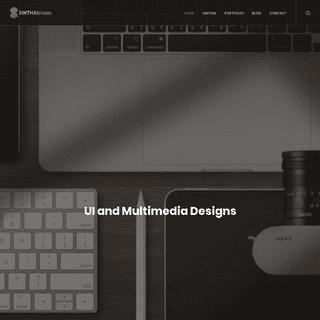 SINTHAIstudio - UI and Multimedia Designs