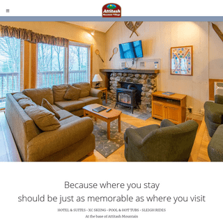 Attitash Mountain Village Resort - Premier lodging in the heart of the White Mountains