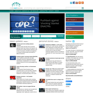 ArchiveBay.com - carenotkilling.org.uk - Promoting palliative care, Opposing euthanasia and assisted suicide - Care Not Killing - Care NOT Killing - Promoting care, Oppo
