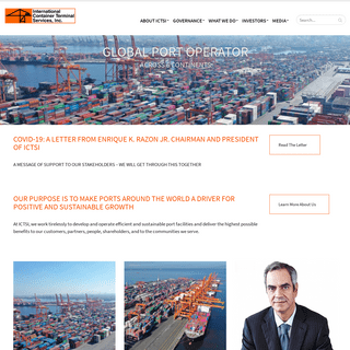 International Container Terminals Services, Inc.