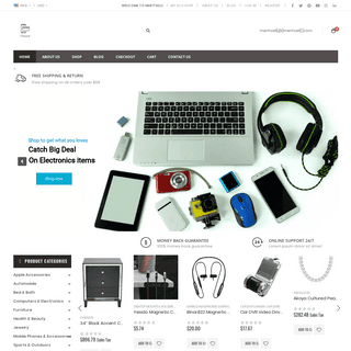 Meritsell Ecommerce - Best Online Shopping Retailers Store