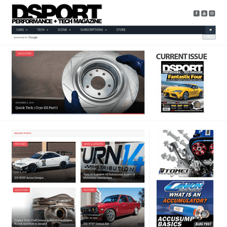 DSPORT Performance + Tech Magazine - DSPORT Magazine