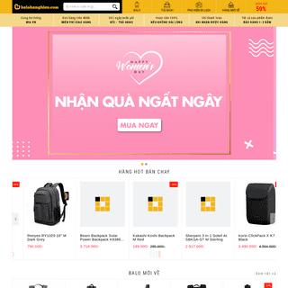 Balo Hàng Hiệu - Hệ thống cửa hàng Balo, Túi, Phụ Kiện Online đầu tiên tại Việt Nam