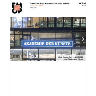 EMOP Berlin - European Month of Photography
