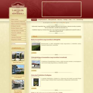 Népfőiskola Alapítvány honlapja