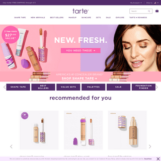 Tarte Cosmetics- Makeup, Skincare & Beauty Products