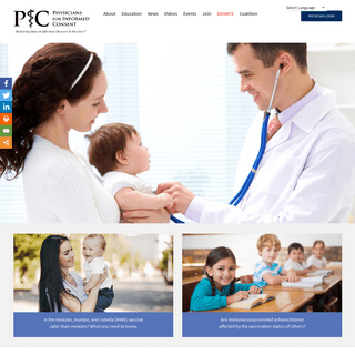 Physicians for Informed Consent – Safeguarding Informed Consent in Vaccination