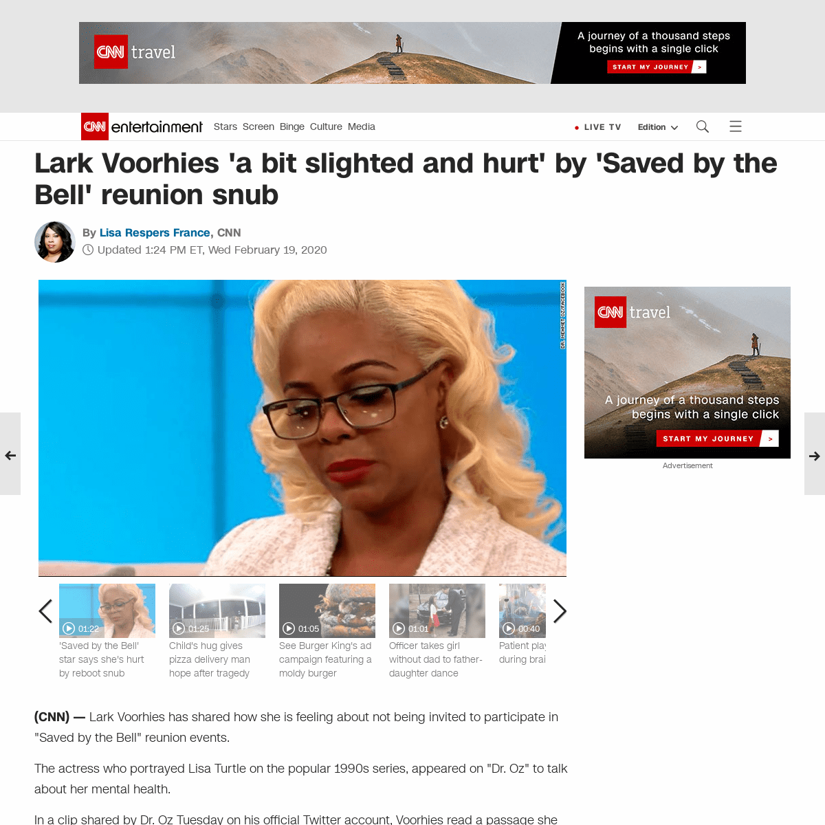 ArchiveBay.com - www.cnn.com/2020/02/19/entertainment/lark-voorhies-hurt-trnd/index.html - Lark Voorhies 'a bit slighted and hurt' by 'Saved by the Bell' reunion snub - CNN