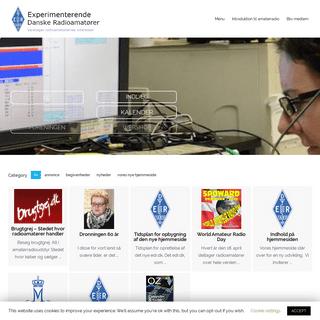 ArchiveBay.com - edr.dk - Forside - Experimenterende Danske Radioamatører